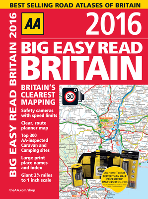 Big Easy Read Britain - AA Publishing (Creator)