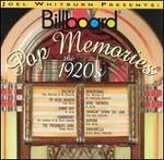 Billboard Pop Memories: The 1920s