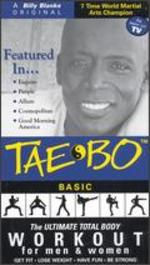 Billy Blanks: Instructional & Basic Tae Bo Workouts - The Ultimate Total Body Workout