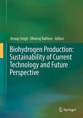 Biohydrogen Production: Sustainability of Current Technology and Future Perspective - Singh, Anoop (Editor), and Rathore, Dheeraj (Editor)