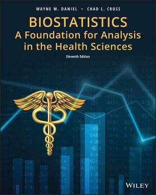 Biostatistics: A Foundation for Analysis in the Health Sciences - Daniel, Wayne W, and Cross, Chad L