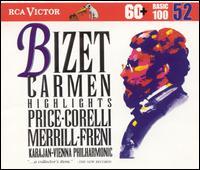 Bizet: Carmen [Highlights] - Bernard Demigny (vocals); Franco Corelli (tenor); Frank Schooten (vocals); Geneviève Macaux (vocals);...