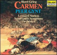 Bizet: Carmen Suite; Grieg: Peer Gynt Suite - Saint Louis Symphony Orchestra; Leonard Slatkin (conductor)
