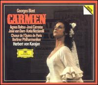 Bizet: Carmen - Agnes Baltsa (vocals); Alain Pilard (vocals); Alexander Malta (vocals); Anne-Marie Tostain (vocals); Christine Barbaux (vocals); Gino Quilico (vocals); Heinz Zednik (vocals); Jane Berbié (vocals); José Carreras (vocals); José van Dam (vocals)