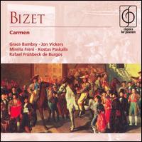 Bizet: Carmen - Albert Voli (tenor); Bernanrd Gontcharenko (bass); Claude Meloni (tenor); Eliane Liblin (soprano);...