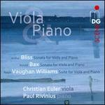Bliss, Bax, Vaughan Williams: Viola Music