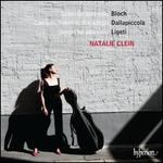 Bloch: Suites for Solo Cello; Dallapiccola: Ciaccona, Intermezzo e Adagio; Ligeti: Sonata for Solo Cello