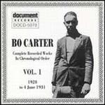Bo Carter, Vol. 1 (1928-1931)