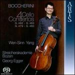 Boccherini: 4 Cello Concertos, G.482, G. 483, G. 479, G. 480