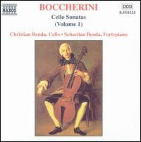 Boccherini: Cello Sonatas, Vol. 1 - Christian Benda (cello); Sebastian Benda (fortepiano)