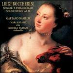 Boccherini: Sonate a Violoncello Solo é Basso, Vol. 2