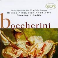 Boccherini: String Quintets/Cello Sonatas - Alda Stuurop (violin); Anner Bylsma (cello); Hopkinson Smith (guitar); Lucy van Dael (viola); Sigiswald Kuijken (violin);...