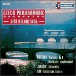 Bohuslav Martinu: Symphony No. 6 (Fantaisies symphoniques); Leos Janacek: Sinfonietta; Josef Suk: Fantastické Scherzo