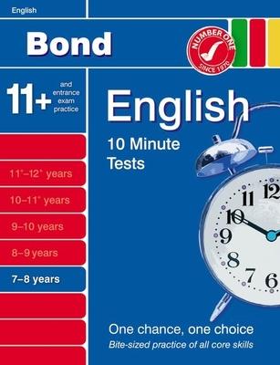 Bond 10 Minute Tests English 7-8 Years - Lindsay, Sarah