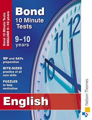 Bond 10 Minute Tests English 9-10 Years - Lindsay, Sarah