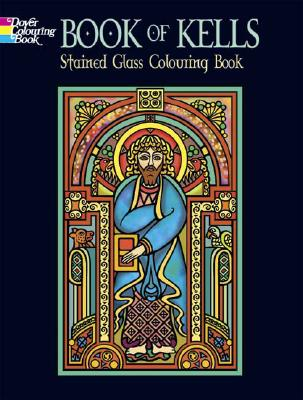 Book of Kells Stained Glass Colouring Book - Noble, Marty