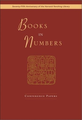 Books in Numbers: Conference Papers - Idema, Wilt (Editor)