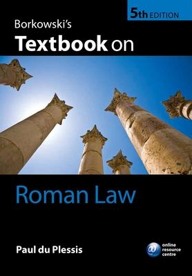 Borkowski's Textbook on Roman Law - du Plessis, Paul