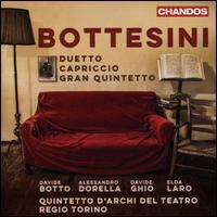 Bottesini: Duetto; Capriccio; Gran Quintetto - Alessandro Dorella (clarinet); Davide Botto (double bass); Davide Ghio (double bass); Elda Laro (piano);...
