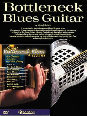 Bottleneck Guitar Pack: Bottleneck Blues Guitar (Book) with Great Bottleneck Blues Lessons (DVD) - Mann, Woody