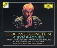 Brahms: 4 Symphonien - Gerhart Hetzel (violin); Wiener Philharmoniker; Leonard Bernstein (conductor)
