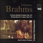 Brahms: Clarinet Quintet, Op.115, String Quartet, Op.51,2