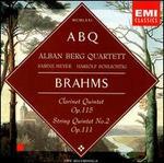 Brahms: Clarinet Quintet, Op. 115; String Quintet, Op. 111