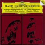 Brahms: Ein Deutsches Requiem, Op.45 - Andreas Schmidt (baritone); Berlin Philharmonic Orchestra; Cheryl Studer (soprano); Eric Ericson Chamber Choir (choir, chorus); Swedish Radio Choir (choir, chorus); Claudio Abbado (conductor)