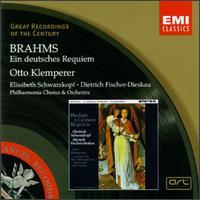 Brahms: Ein deutsches Requiem - Dietrich Fischer-Dieskau (baritone); Elisabeth Schwarzkopf (soprano); Ralph Downes (organ);...