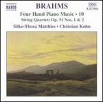 Brahms: Four Hand Piano Music, Vol. 10