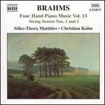 Brahms: Four Hand Piano Music, Vol. 13