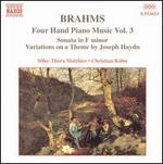 Brahms: Four Hand Piano Music, Vol. 3