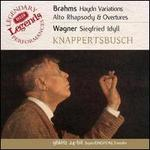Brahms: Haydn Variations; Alto Rhapsody; Overtures;  Wagner: Siegfried Idyll