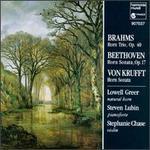 Brahms: Horn Trio; Beethoven, Krufft: Horn Sonatas