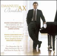 Brahms: Piano Concerto No. 1; Piano Concerto No. 2 - Emanuel Ax (piano); Jules Eskin (cello)