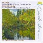 Brahms: Piano Quartet No. 3; Mendelssohn: Piano Quartet No. 3