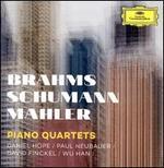 Brahms, Schumann, Mahler: Piano Quartets
