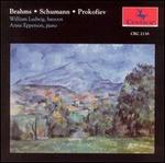Brahms, Schumann, Prokofiev - Anne Epperson (piano); William Ludwig (bassoon)