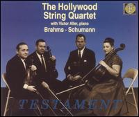 Brahms & Schumann - Alvin Dinkin (viola); Eleanor Aller (cello); Felix Slatkin (violin); Hollywood String Quartet; Paul Robyn (viola);...