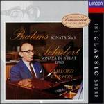 Brahms: Sonata No. 3; Schubert: Sonata in B flat D 960
