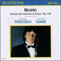 Brahms: Sonatas for Clarinet & Piano, Op.120 - Richard Goode (piano); Richard Stoltzman (clarinet)