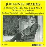 Brahms: Sonatas Op. 120; Scherzo