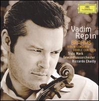 Brahms: Violin Concerto; Double Concerto - Henrik Wahlgren (oboe); Jascha Heifetz (candenza); Truls Mørk (cello); Vadim Repin (violin); Leipzig Gewandhaus Orchestra;...