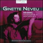Brahms: Violinkonzert, op. 77