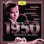 Brahms, Wolf & Schumann: Lieder