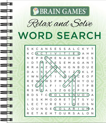 Brain Games - Relax and Solve: Word Search (Green) - Publications International Ltd, and Brain Games