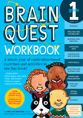 Brain Quest Grade 1 Workbook - Trumbauer, Lisa, and Rogers, Betsy (Editor)