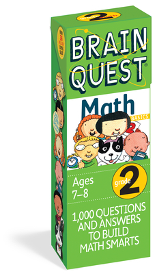 Brain Quest Grade 2 Math - Martinelli, Marjorie