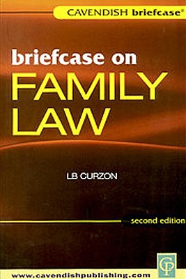 Briefcase on Family Law - Curzon, L B