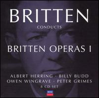 Britten Conducts Britten: Operas 1 - Anne Pashley (vocals); April Cantelo (vocals); Benjamin Luxon (vocals); Bryan Drake (vocals); Catherine Wilson (vocals);...
